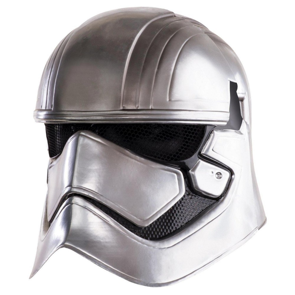 Star Wars Captain Phasma Kids Helmet One Size Fits Most, Girls, Gray