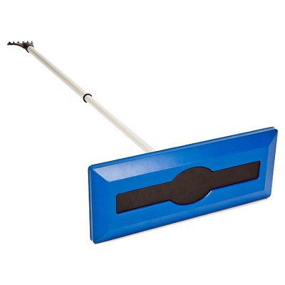 Snow Joe® 2-in-1 Ice Scraper & Snow Broom - 18