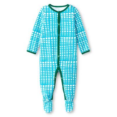 Oh Joy!® Newborn Sleep N Play - Blue Grid 0-3M