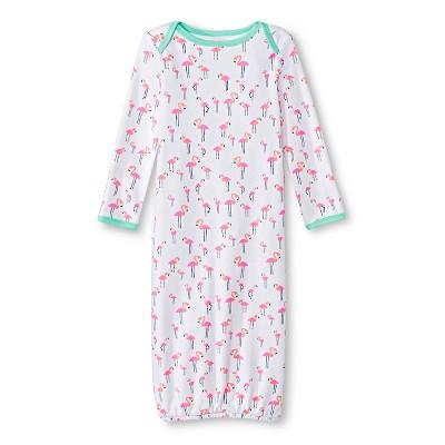 Oh Joy!® Newborn Nightgown - Flamingo 6-9M