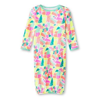 Oh Joy!® Newborn Nightgown - Torn Paper 3-6M