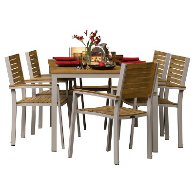 Oxford Garden Travira 7 Piece Dining Set : Target