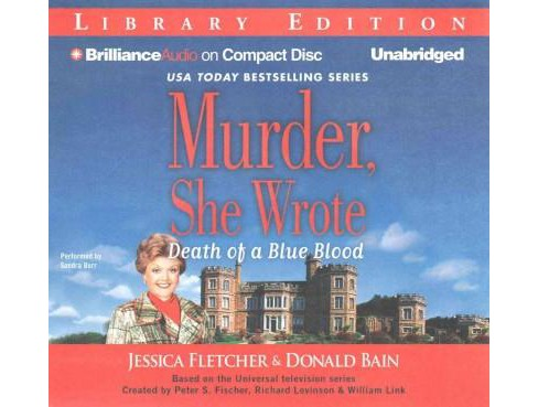 Death of a Blue Blood : Library Edition (Unabridged) (CD/Spoken Word) (Jessica Fletcher & Donald Bain) - image 1 of 1