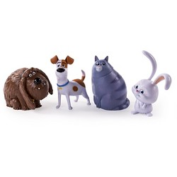 The Secret Life of Pets - Poseable Pet Figures 4-Pack