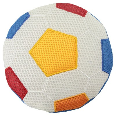 Soccer Ball Squeaker Dog Toy - Red - Boots & Barkley™