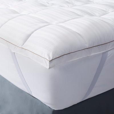 Premium Down Alternative Mattress Topper (Full)White - Fieldcrest™