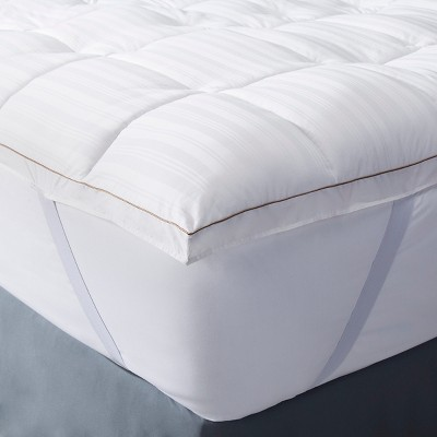 Premium Down Alternative Mattress Topper - White (King)- Fieldcrest™