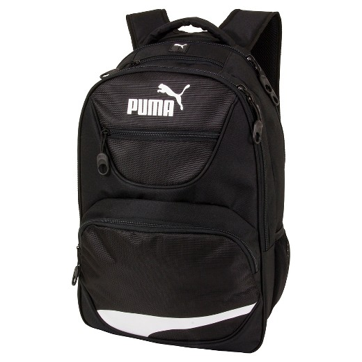 puma yellow and black backpack