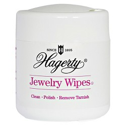 Hagerty Jewelry Wipes (20 Wet Disposable Wipes)