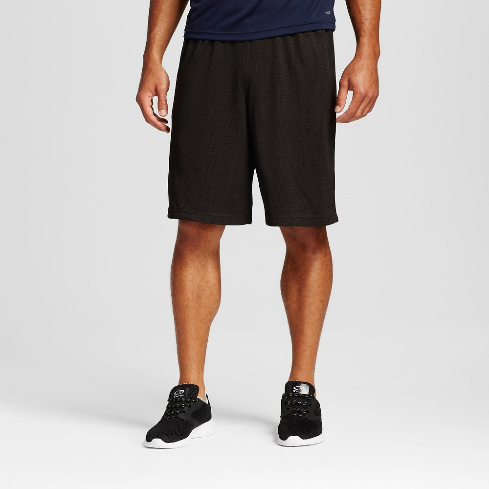 Mens Big & Tall Mesh Shorts - C9 Champion Black 4XL
