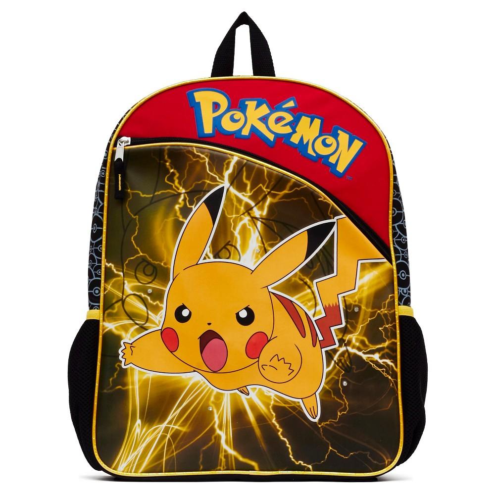 Pokemon 16 Pikachu Kids Backpack - Yellow