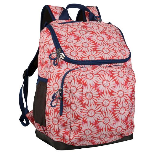 17 Recycled Content Jartop Backpack - Floral - Embark™
