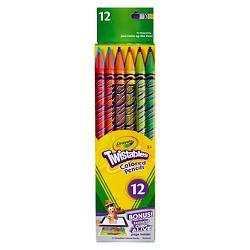 Crayola® Twistable Colored Pencils 12ct