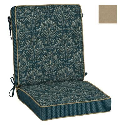 Reversible Chair Cushion Royal Zanzibar Bombay Outdoors Target
