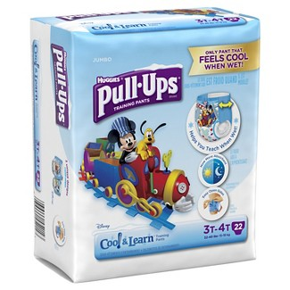 Huggies® Pull-Ups Boys Cool and Learn Training Pants Jumbo Pack 3T-4T (22 ct)