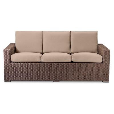 Heatherstone All Weather Wicker Sofa   Threshold™