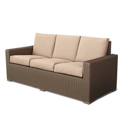 Heatherstone Wicker Patio Club Chair   Threshold™ : Target
