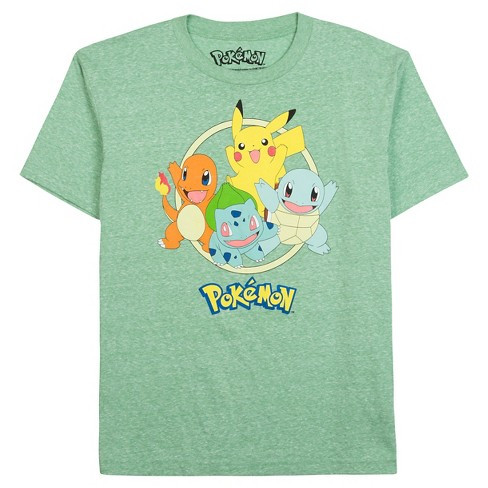 Boys' Pokémon Vintage Starters Graphic T-Shirt - image 1 of 1