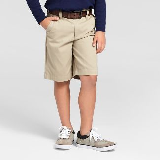 khaki shorts boys uniform : Target