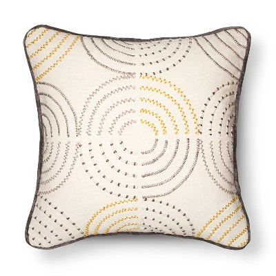 Yellow Medallion Throw Pillow - Room Essentials™