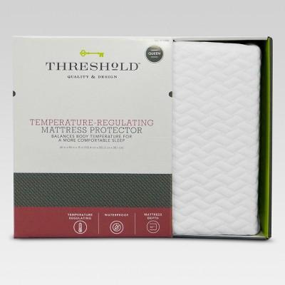 temperature regulating mattress protector threshold - Mattress