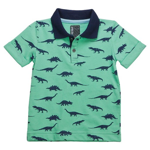 Toddler boys 39 polo shirt green no retreat target for Toddler boys polo shirts