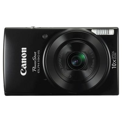 Canon PowerShot ELPH190 Camera - Black (1084C001)