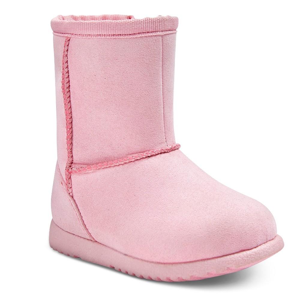 Infant Girls' Aubrey Fleece Boots Pink 5 – Genuine Kids, Infant Girl's