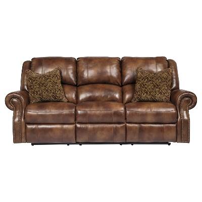 Walworth Reclining Power Sofa - Blackcherry - Ashley Furniture  sc 1 st  Target & broyhill leather reclining sofa : Target islam-shia.org