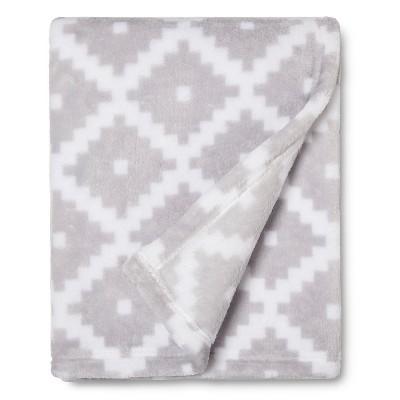 Sabrina Soto™ Diamond Geo Baby Blanket - Gray