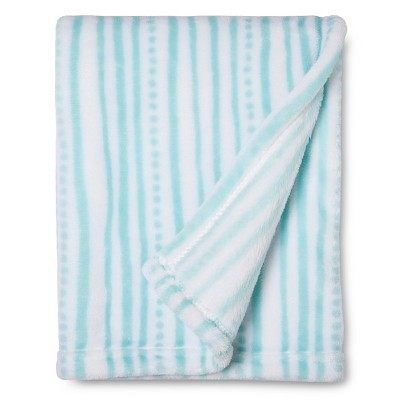 Sabrina Soto™ Wavy Stripe Baby Blanket - Turquoise