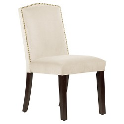 Nail Button Arched Dining Chair - Skyline Furniture®