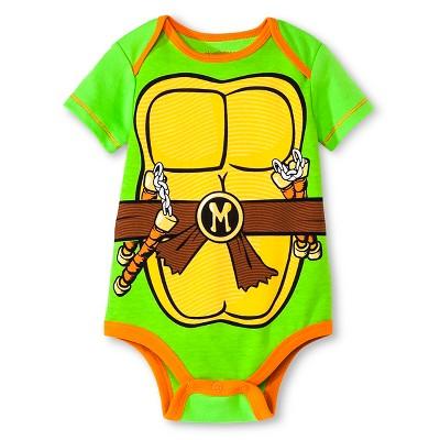 Teenage Mutant Ninja Turtles® Baby Boys' Bodysuit - Green 12M