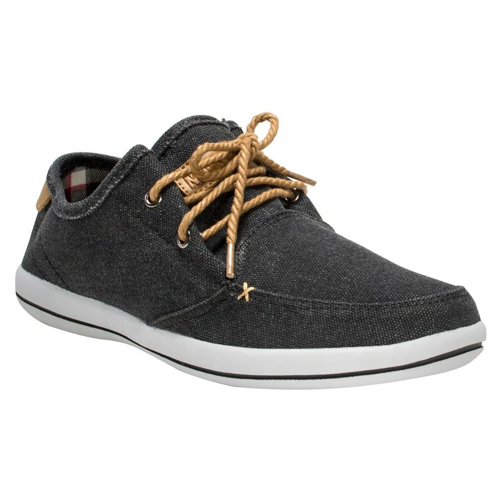 Mens Muk Luks Josh Sneakers - Black 12