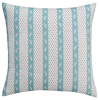 seedling by thomaspaul curiosities dotted stripe pillow sham euro