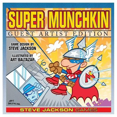 Super Munchkin Guest Artist Ed