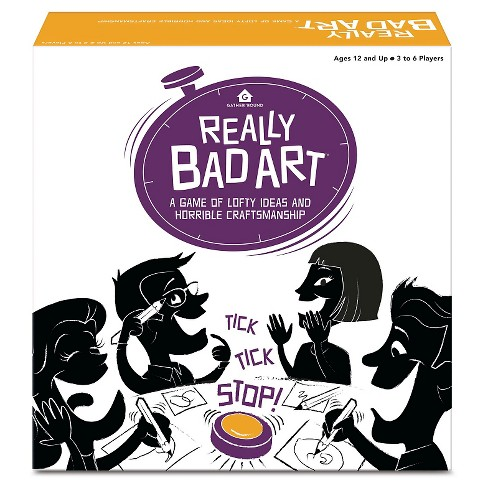 Really Bad Art Board Game - image 1 of 2