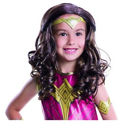 Wonder Woman Child Wig Dawn of Justice