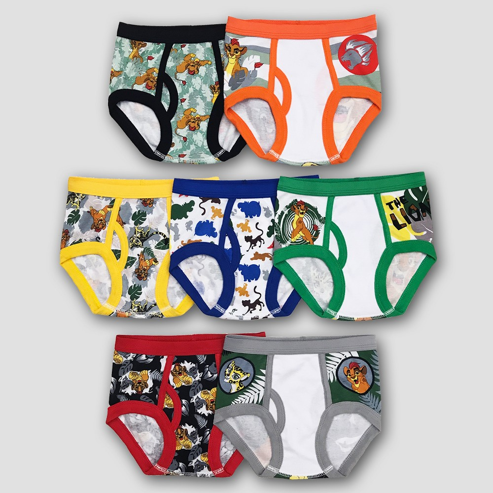 Disney Toddler Boys' Nemo 7pk Classic Briefs - 4T, Multicolored