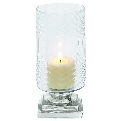Opaque Designed Glass Candle Holder - Benzara®