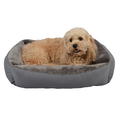 Rectangle Pet Bed - M - Gray - Boots & Barkley™