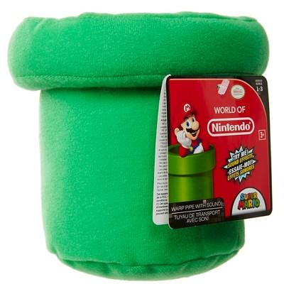 Nintendo Super Mario Warp Pipe Plush with Sounds – Target