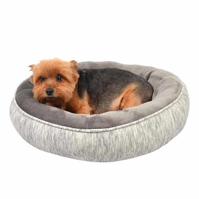Oval Pet Bed Knit - S - Gray - Boots & Barkley™