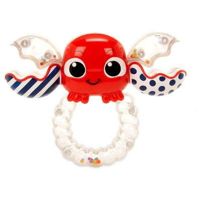 Little Tikes Baby Shake 'n Rattle Crabbie Ring - Red