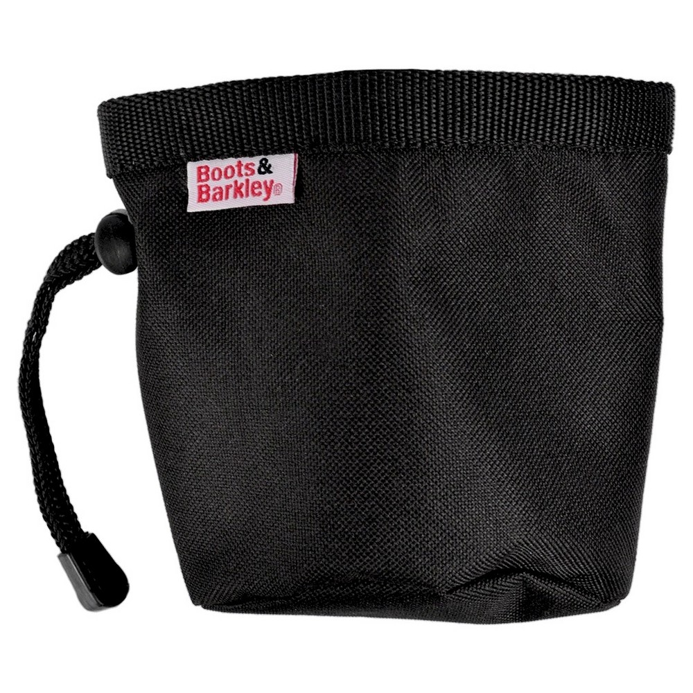 Training Treat Bag Pet Bowl Black One Size - Boots & Barkley