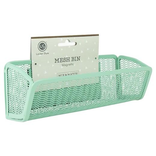 Locker Style Mesh Bin Mint