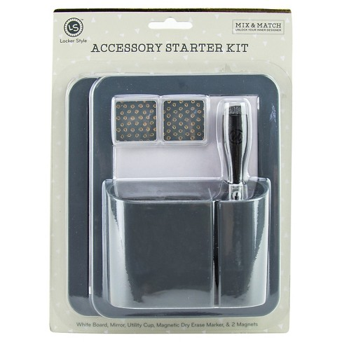 Locker Style™ Decoration Accessory Kit - Gray - image 1 of 1