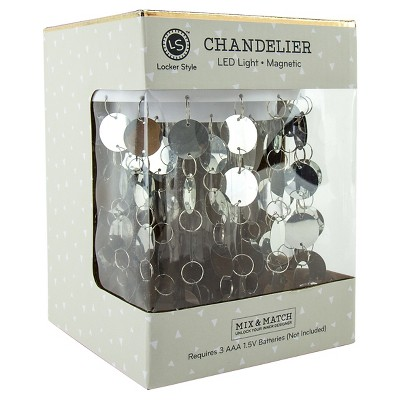 Locker Style™ Chandelier LED Light Decoration - Silver
