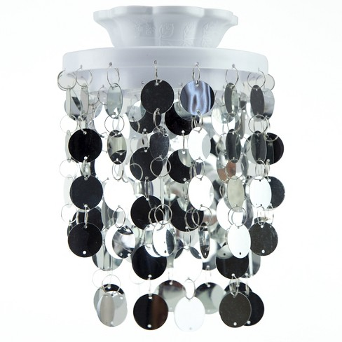 Locker style chandelier led light decoration silver target aloadofball Choice Image