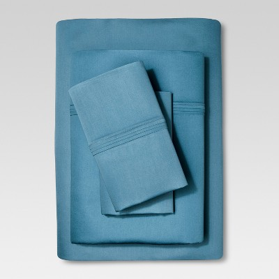 Organic Cotton Sheet Set (Queen)Deep Blue - Threshold™